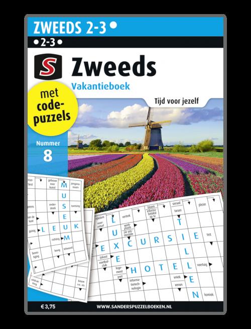 puzzelboek Zweeds Vakantieboek 8