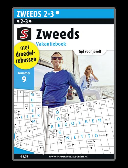 puzzelboek Zweeds Vakantieboek 9