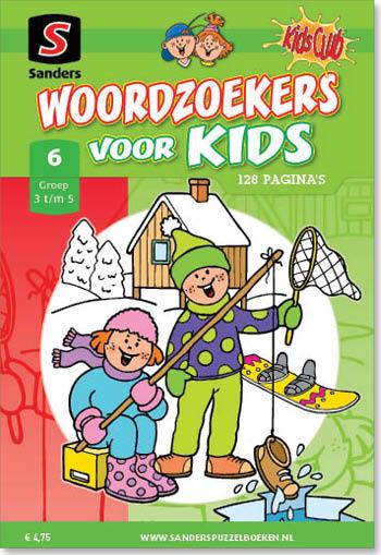 Woordzoekers voor Kids 6