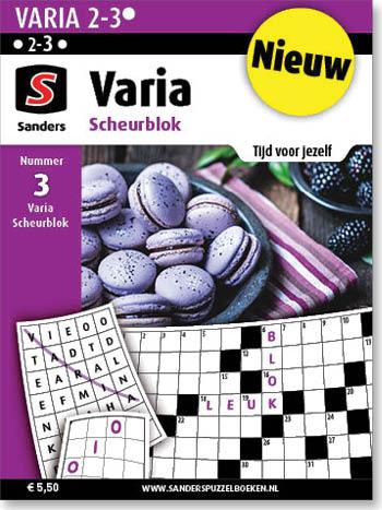 Varia Scheurblok 3