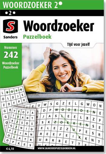 Woordzoeker Puzzelboek 242