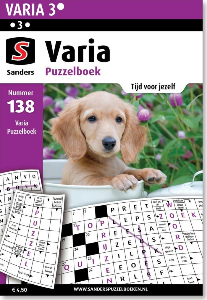 Varia Puzzelboek 138