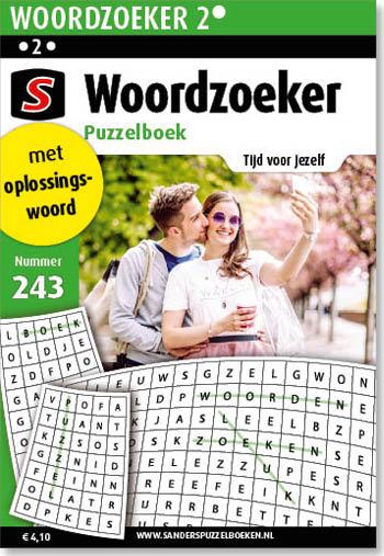 Woordzoeker Puzzelboek 243