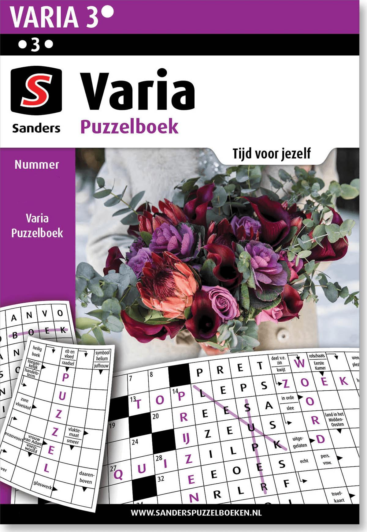 Abonnement Varia Puzzelboek