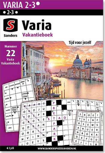 Varia Vakantieboek 22