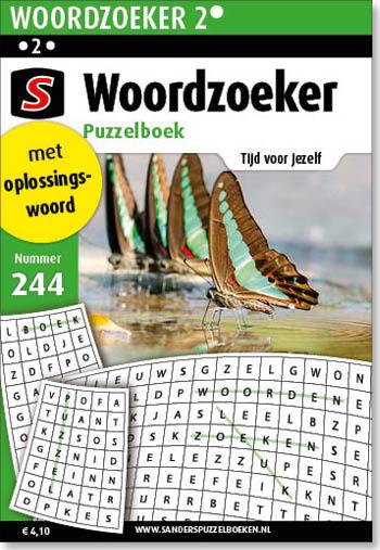 Woordzoeker Voordeel Puzzelboek 244